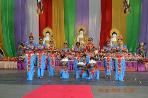 2013-YSDS students performing at Buddha Birthday Celebrations-South bank-2